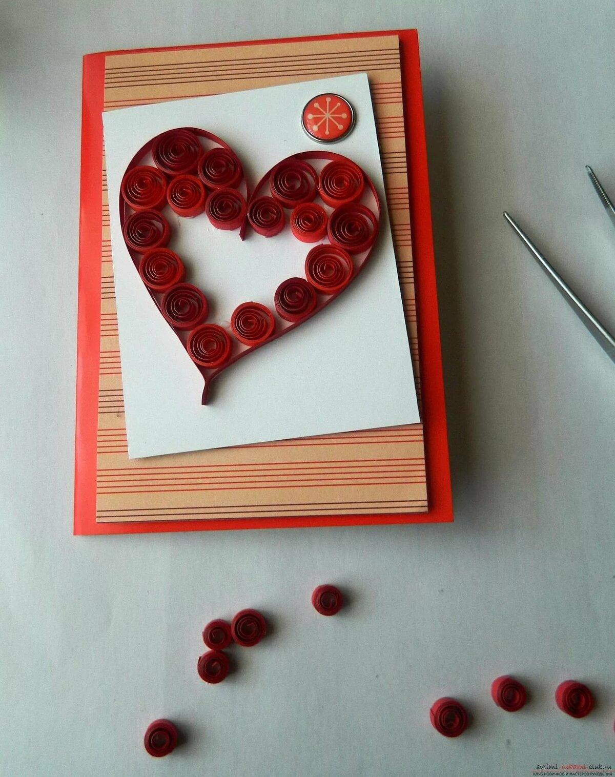 Красивые валентинки: своими руками, мастер класс, из бумаги, разнообразные варианты, красивое оформление
