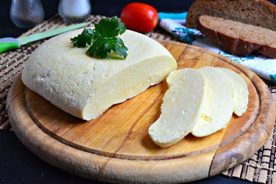Сыр по-домашнему – кулинарный рецепт