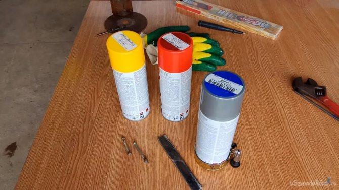 Как сделать многоразовый аэрозольный баллончик для покраски