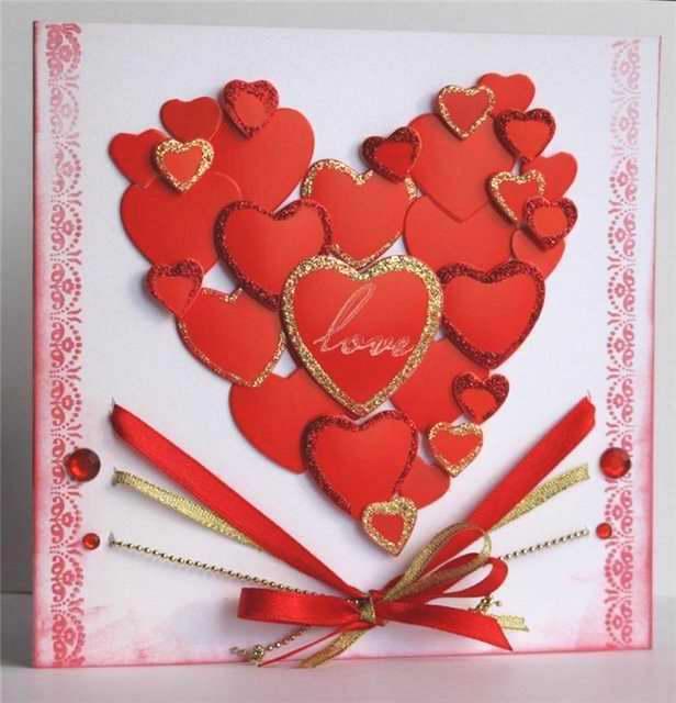 Сердечко ко дню всех влюбленных