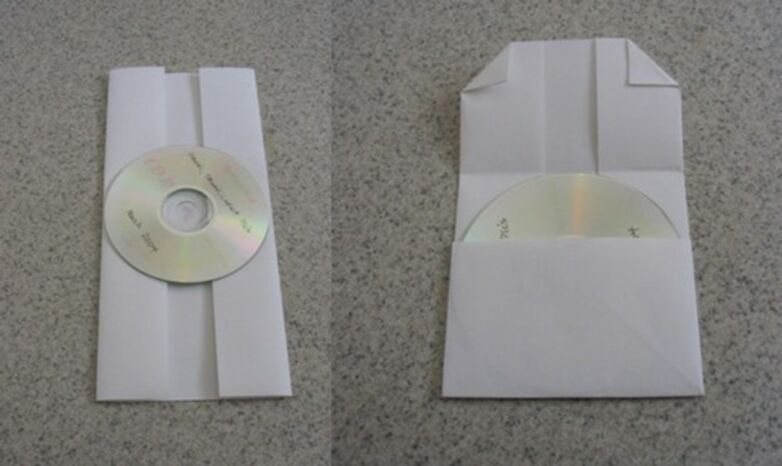 Подарочный конверт для диска