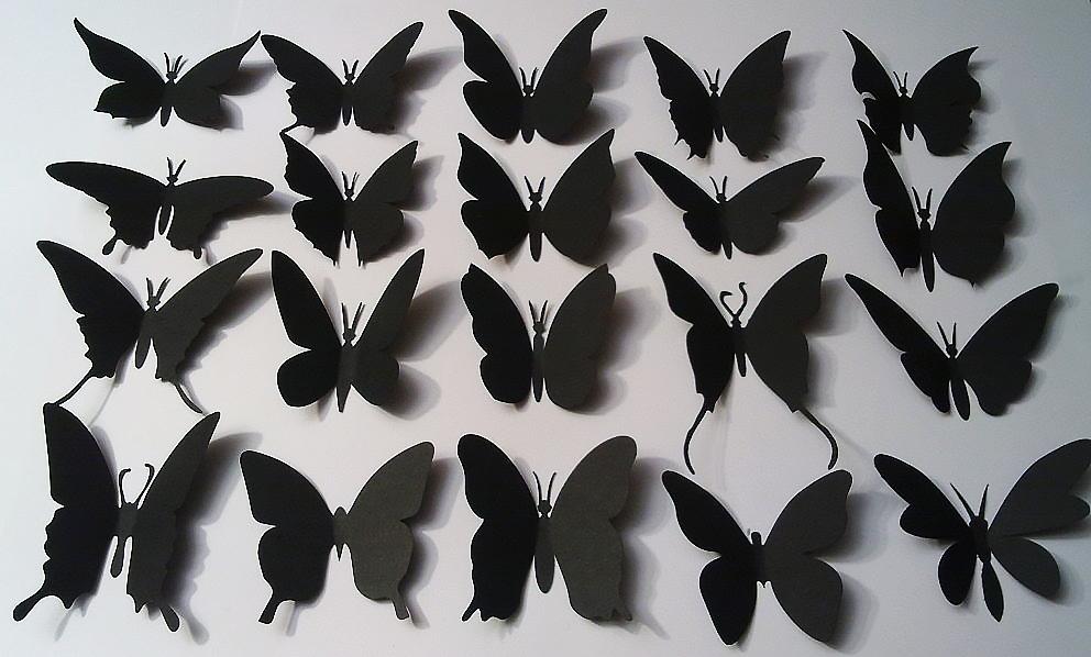 Бабочки в интерьере: варианты оформления (23 фото) | дом мечты