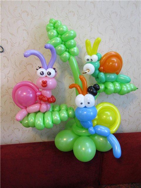 ᐉ веселые игрушки из воздушных шаров - своими руками -