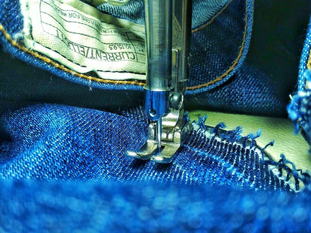 Как красиво зашить или замаскировать дырку на джинсах - лайфхакер