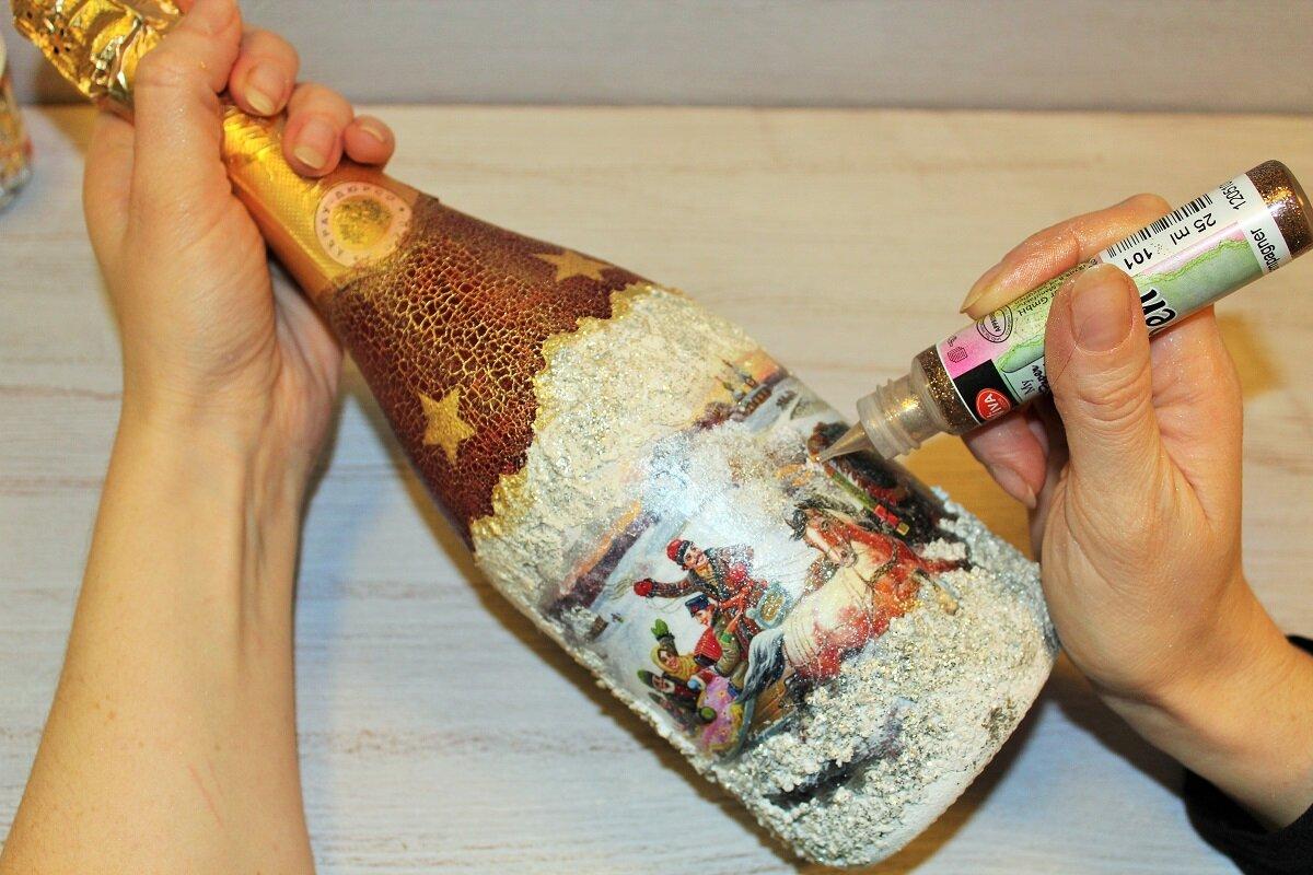 Новогодний декупаж: потрясающие идеи и пошаговые мастер-классы с фото
