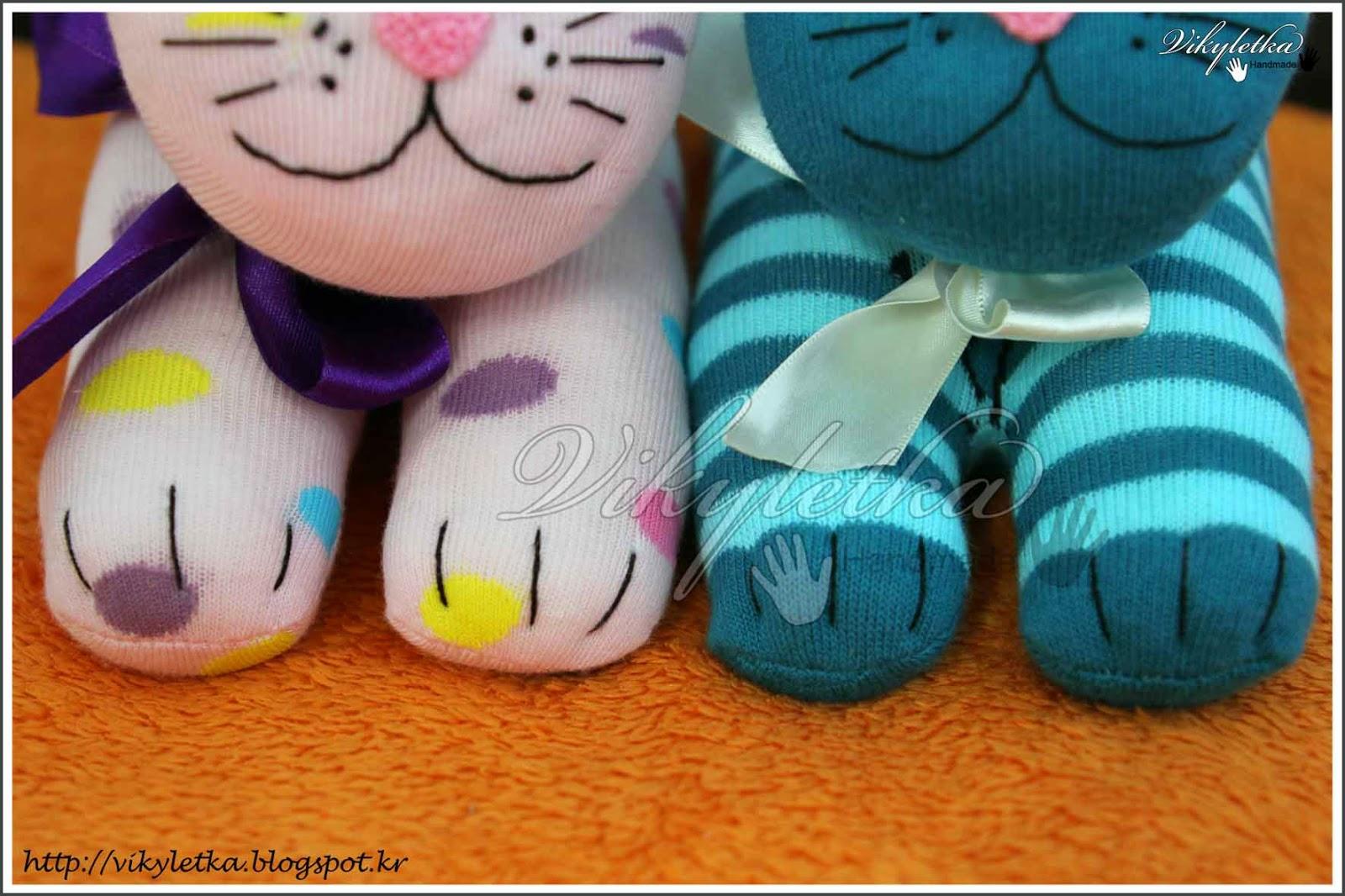 Котенок из носка своими руками: руководство к действию