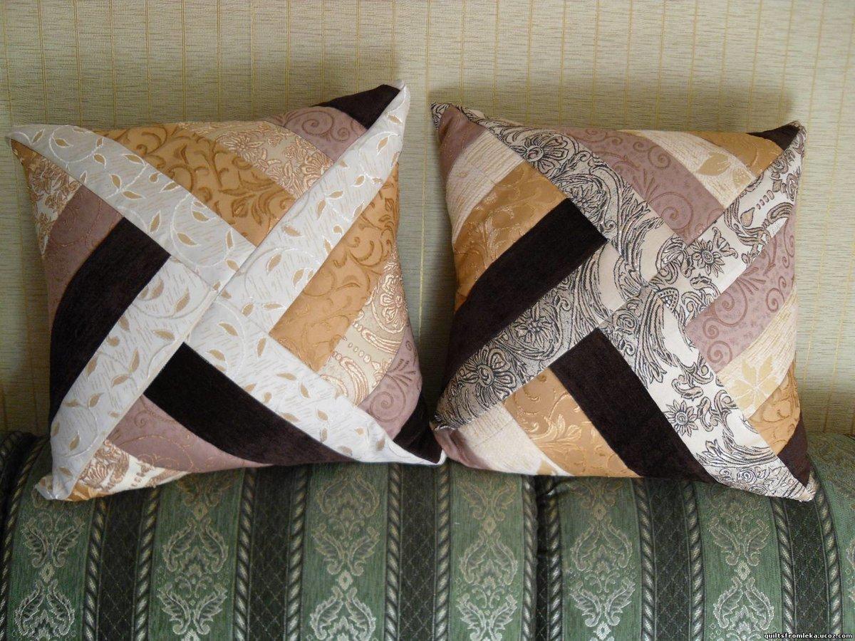 Пэчворк-подушки: идеи для начинающих, схемы и мастер-класс