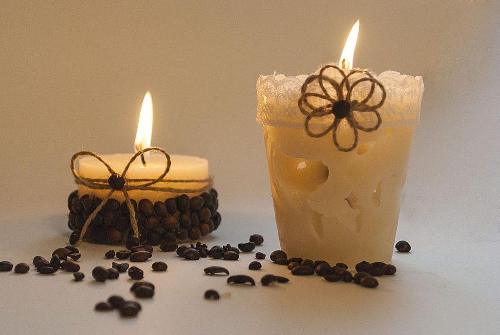 Как сделать оригинальную ароматическую свечу своими руками