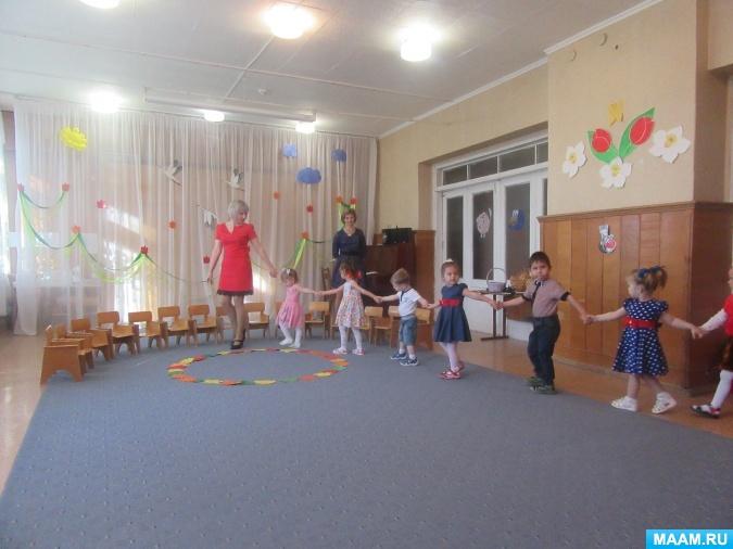 Сценарий спортивного развлечения для детей младшей группы «солнечные зайчики»