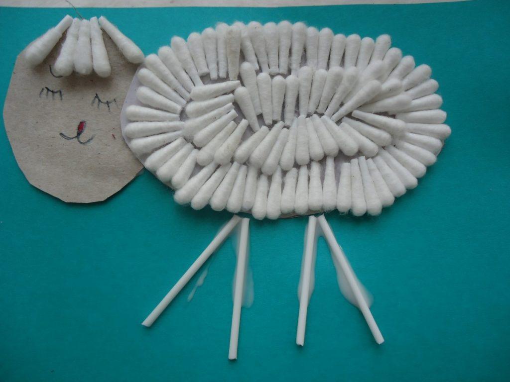 Поделки из ватных палочек своими руками - 70 фото идей необычных изделий
