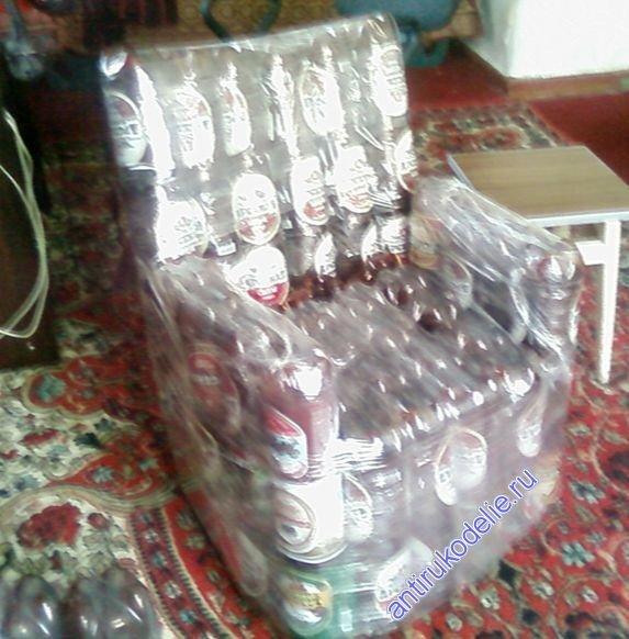 Стул из бутылок пластиковых своими руками. собираем кресло | дизайн / интерьер / стиль