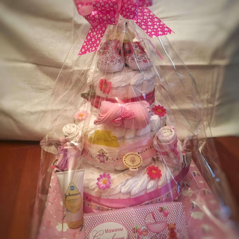 Букет из одежды для новорожденных: подробно разбираемся в каждом этапе