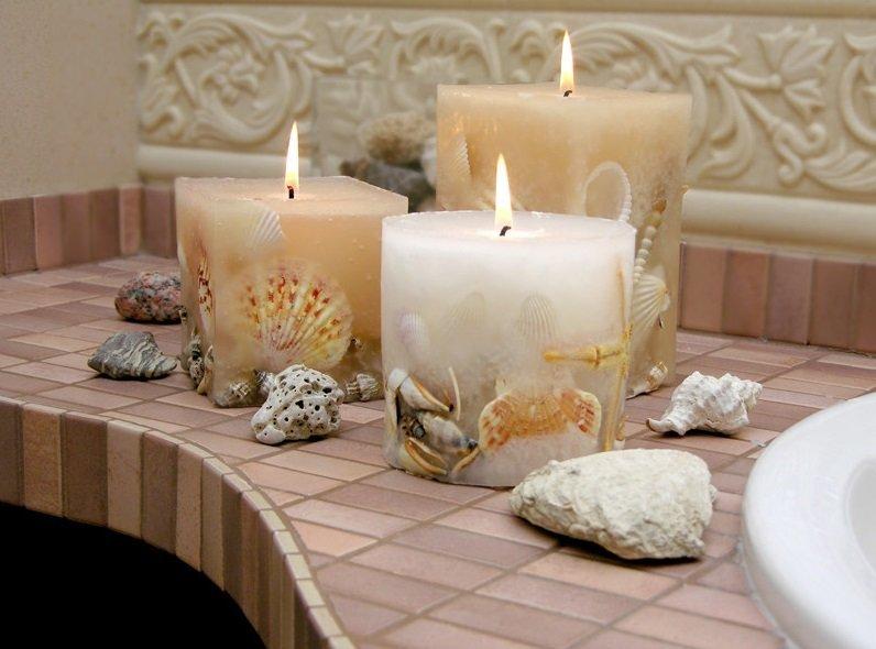 10 красивых и ароматных свечей своими руками