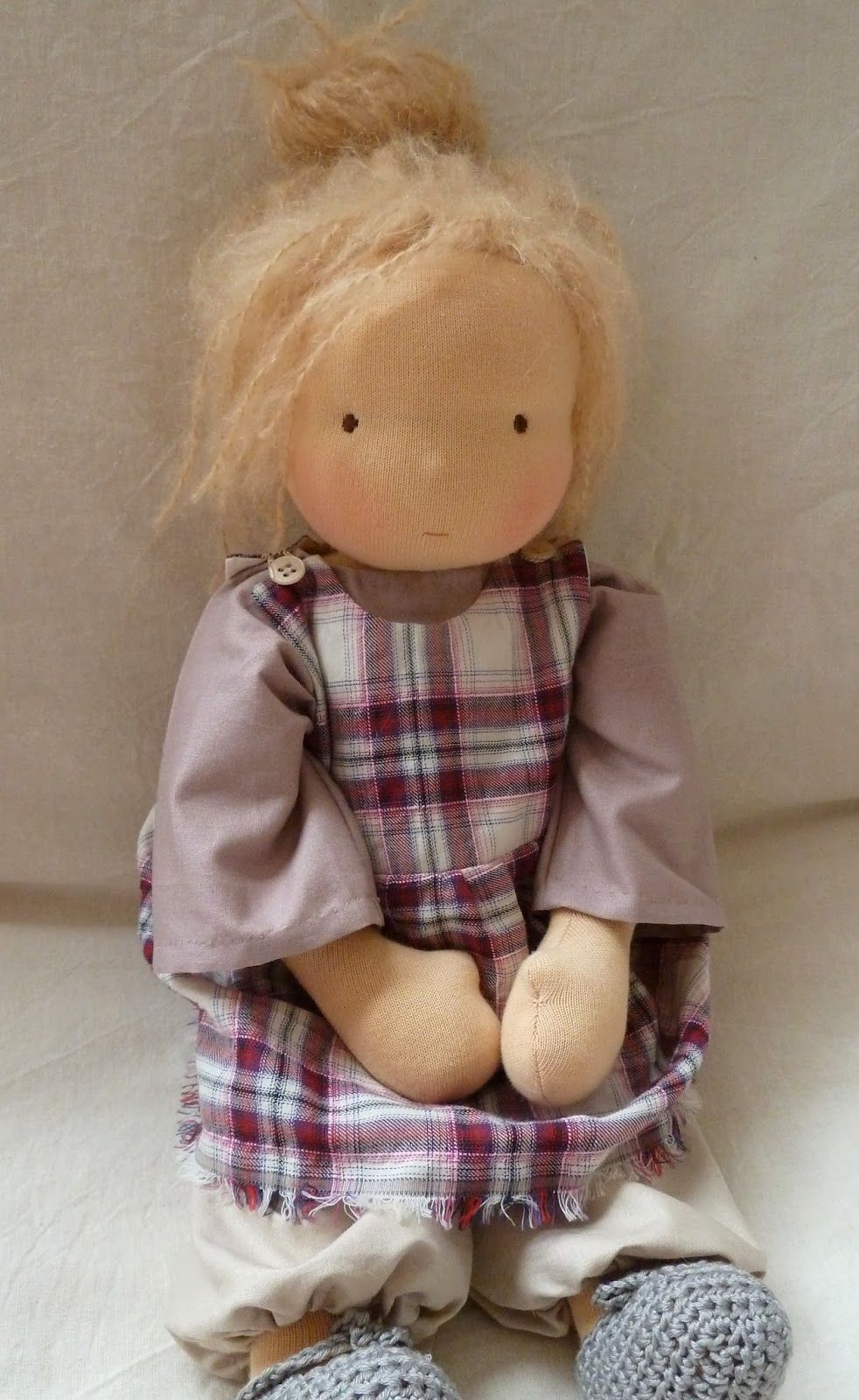 Русская народная игрушка: тряпичная кукла своими руками, пошаговый процесс работы