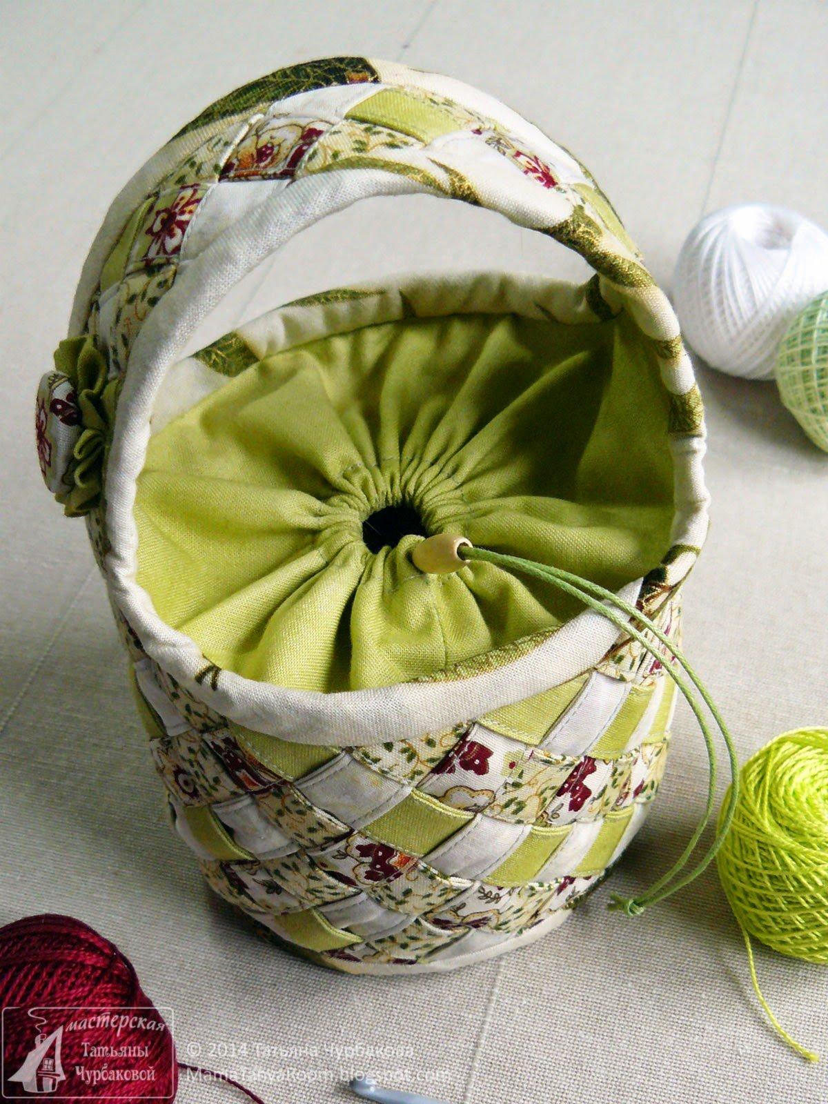 Корзина для рукоделия, шитья и вязания | westwing