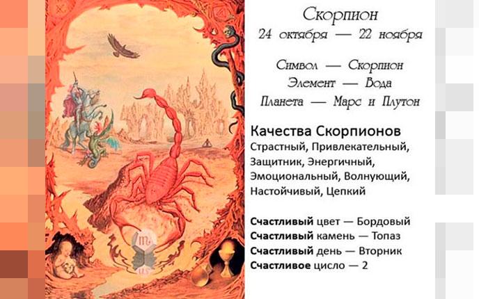 Скорпион: все о характере знака зодиака | гороскопы 365