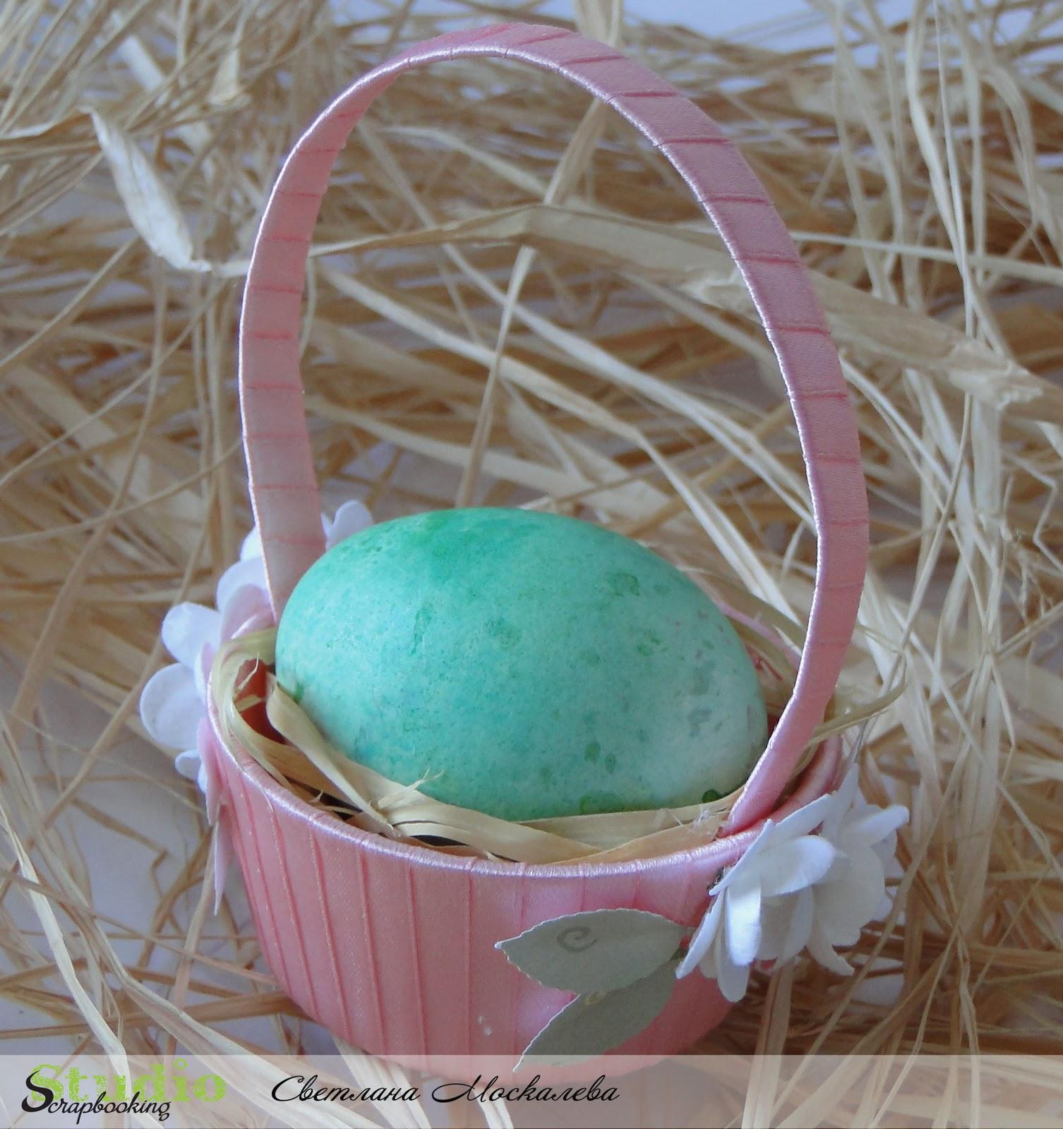 Корзинки для пасхальных яиц своими руками! (идеи и мастер-классы)