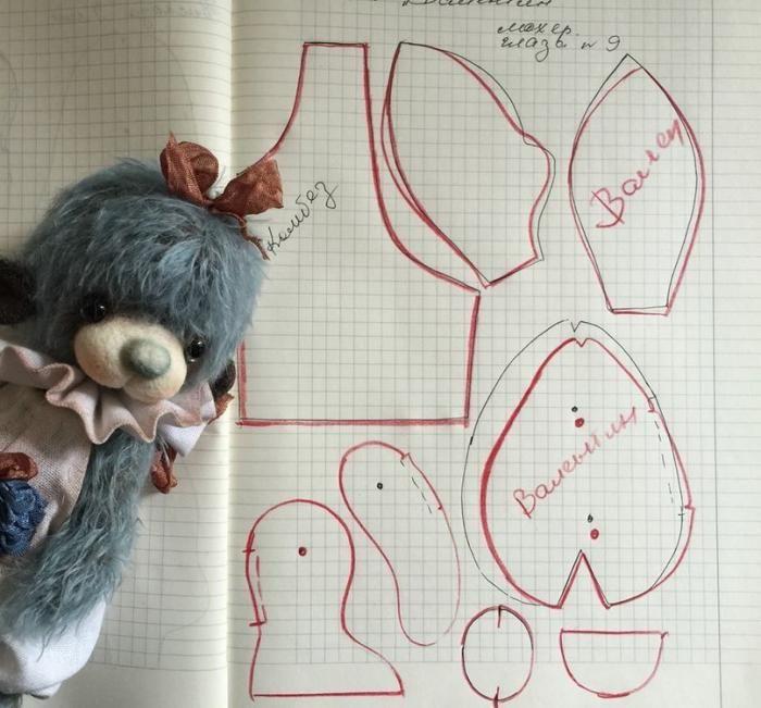 Как сшить мягкого мишку своими руками