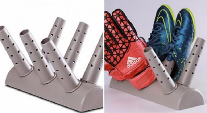 Сушилка для обуви из подручных материалов, изготовление своими руками. как сделать сушилку для обуви своими руками? коврик для сушки обуви сделать самому