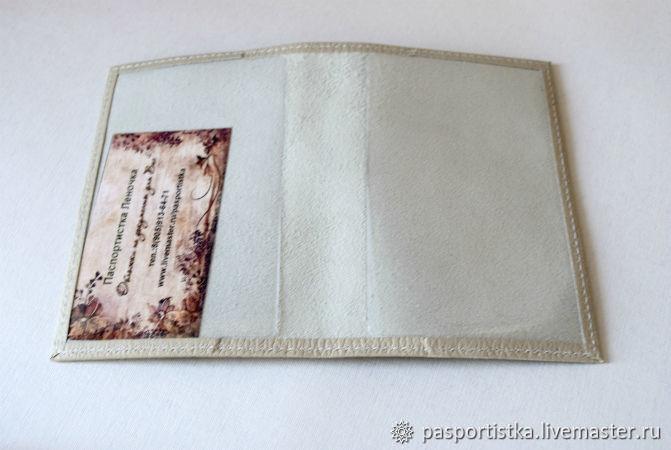 Мк обложки на паспорт. - декупаж - страна мам