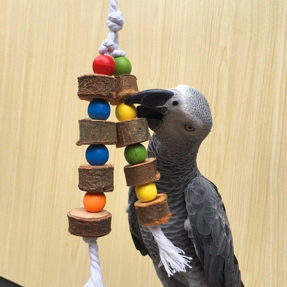 Игрушки для попугаев (волнистых, корелл, жако) своими руками