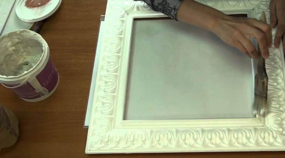 Рамки для картины своими руками из потолочного плинтуса