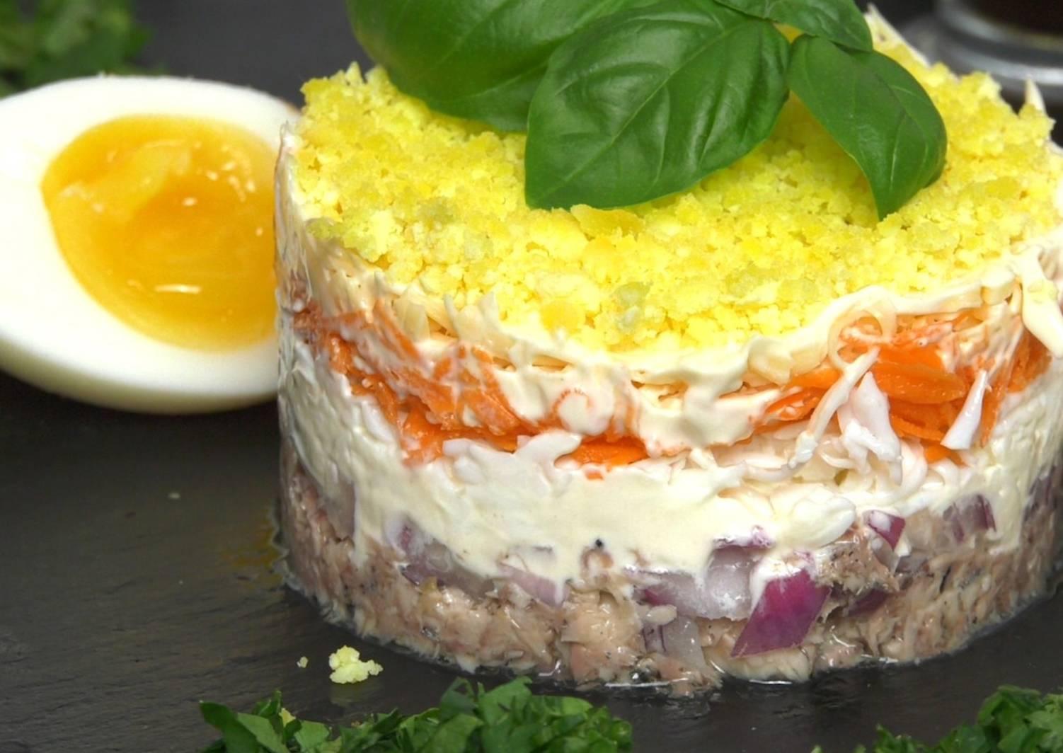 """И снова """"мимоза"""" – кулинарный рецепт"""