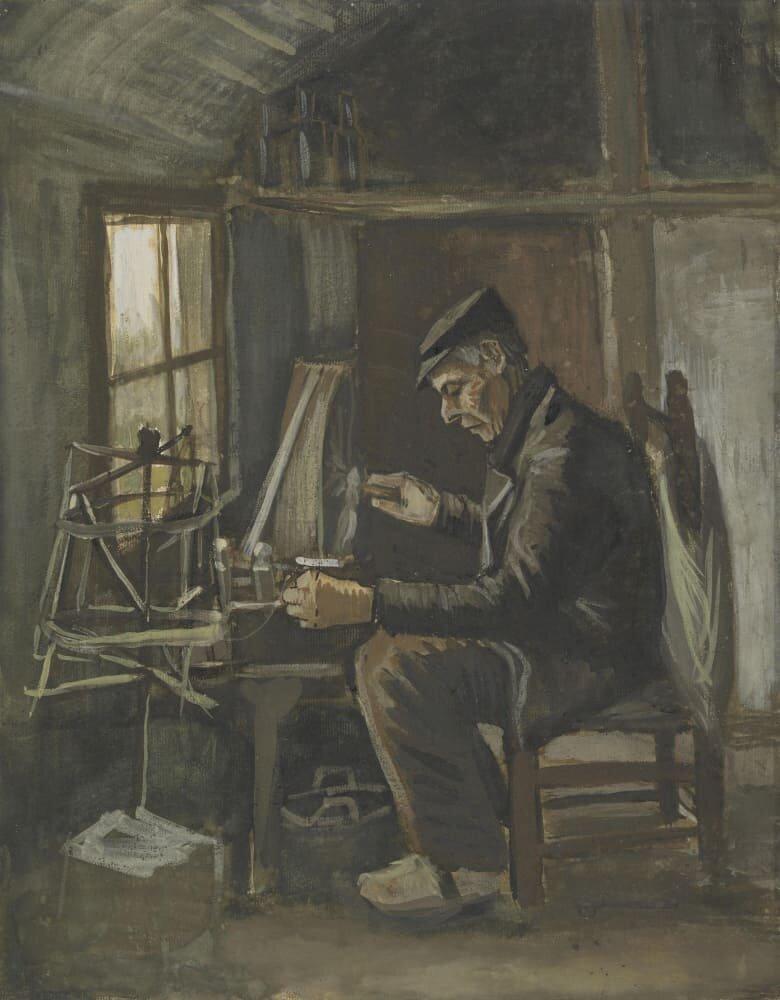Ван гог. ранние работы. ван гог и гоген. картины и биографии.