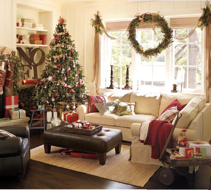 Простые способы украсить дом к новому году