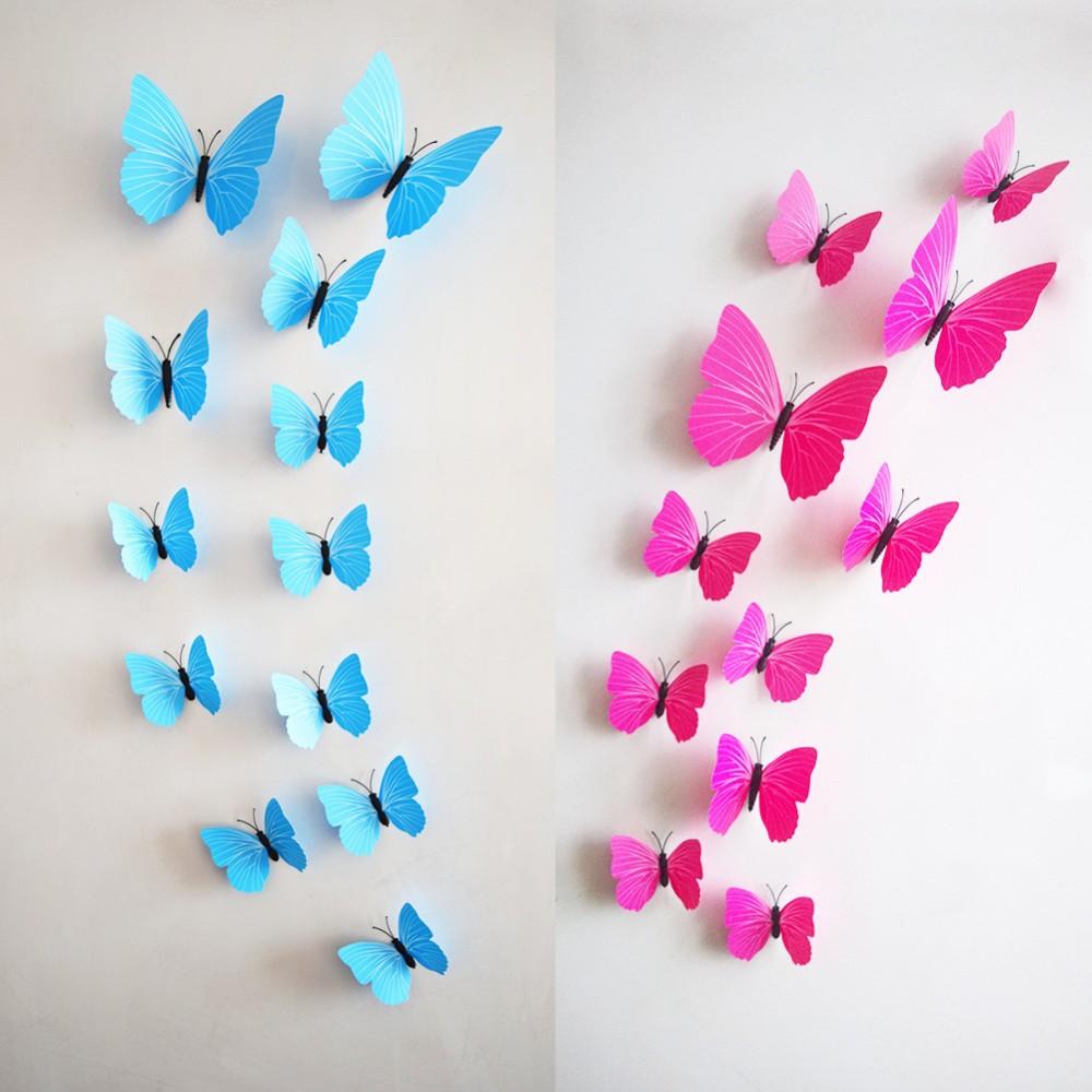 Порхающие бабочки в интерьере своими руками