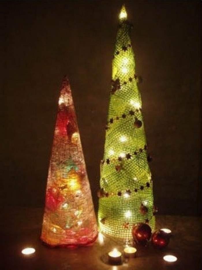 Как сделать елку из гофрированной бумаги: пошаговая инструкция по созданию поделки на новый год