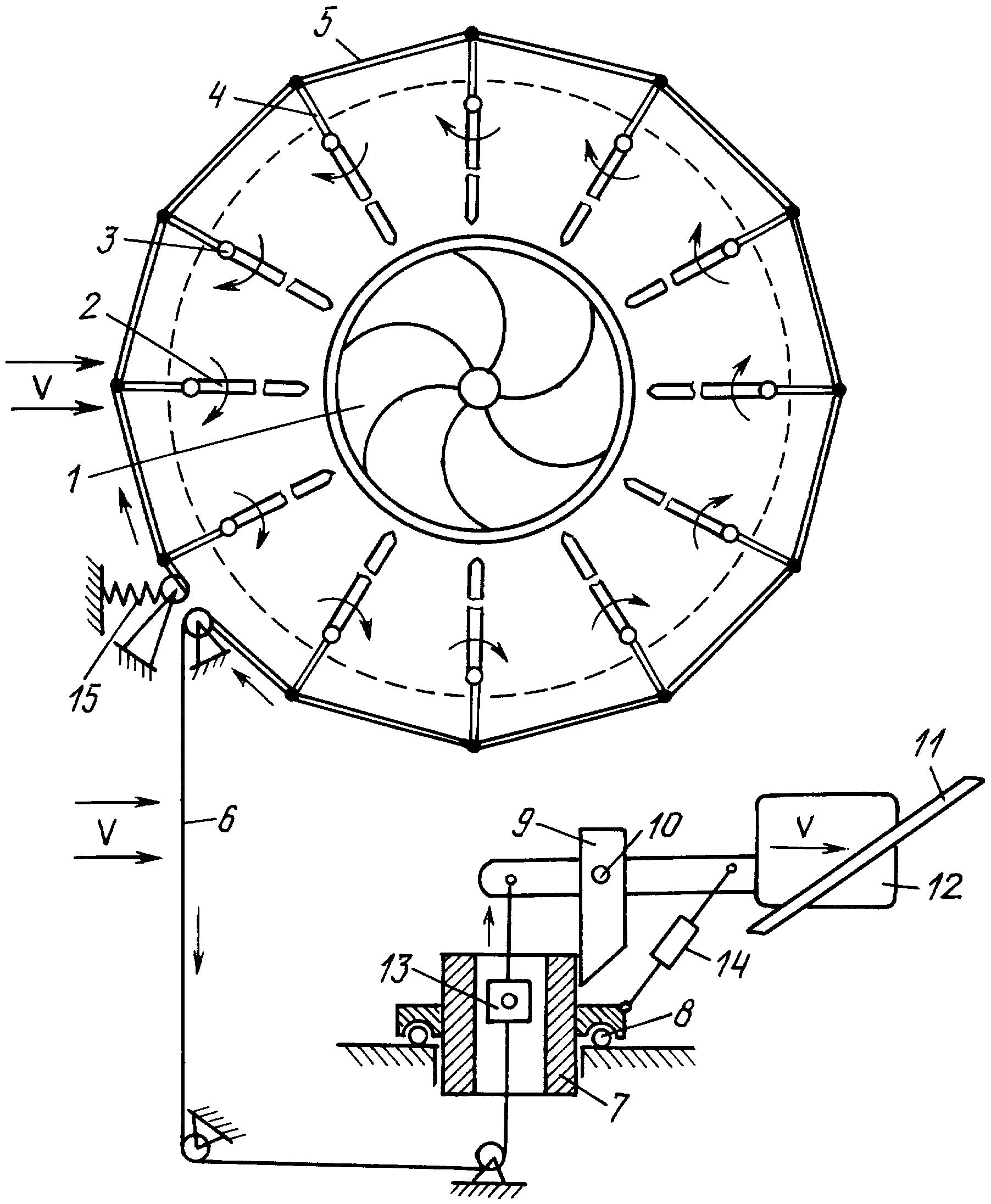Вертикальный роторный ветряк - секрет мастера - сделай своими руками