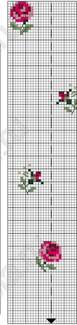 ✅ салфетка c вышитыми розами - eco-podarki.ru