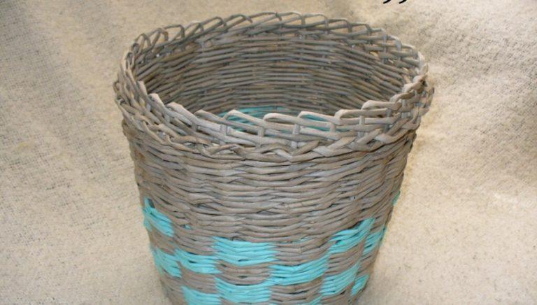 Плетение кашпо из газетных трубочек: мастер классы с фото, как сделать своими руками