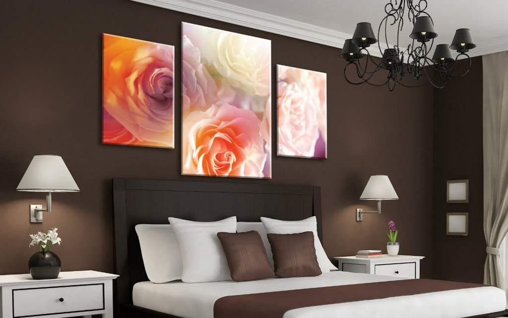 Картины на стену из нескольких частей (12 фото)