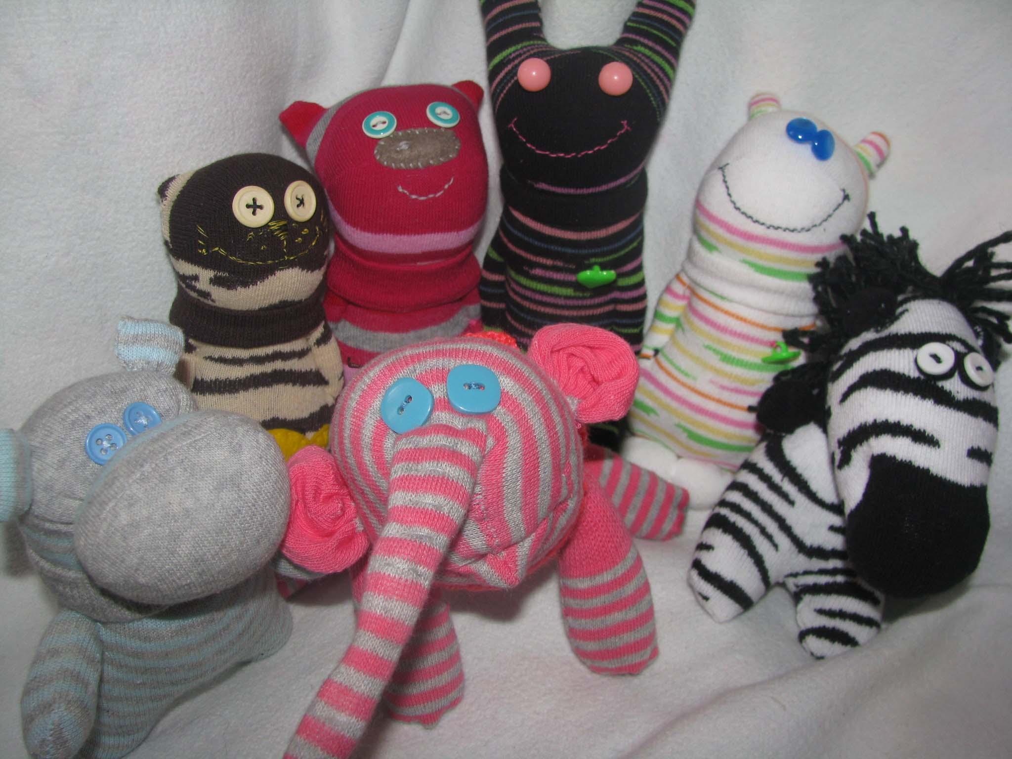 Как сделать игрушку ? из носка