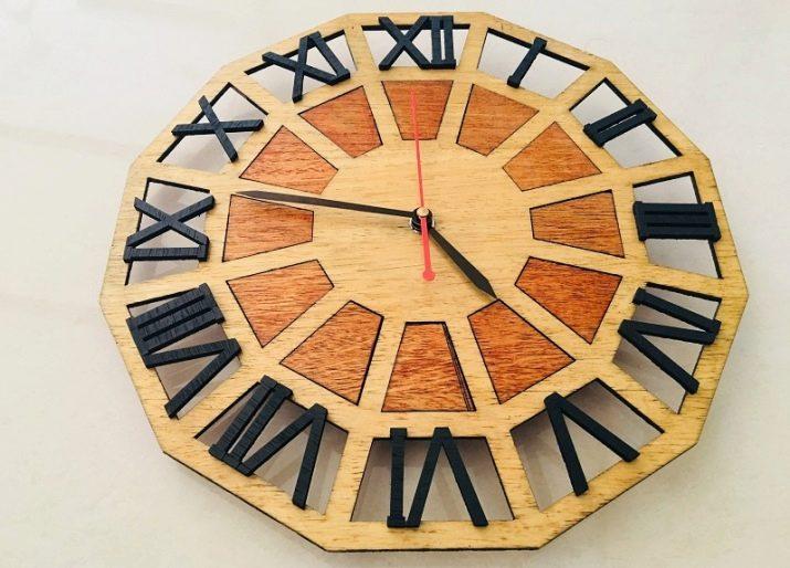 Как сделать простые и оригинальные часы из фанеры