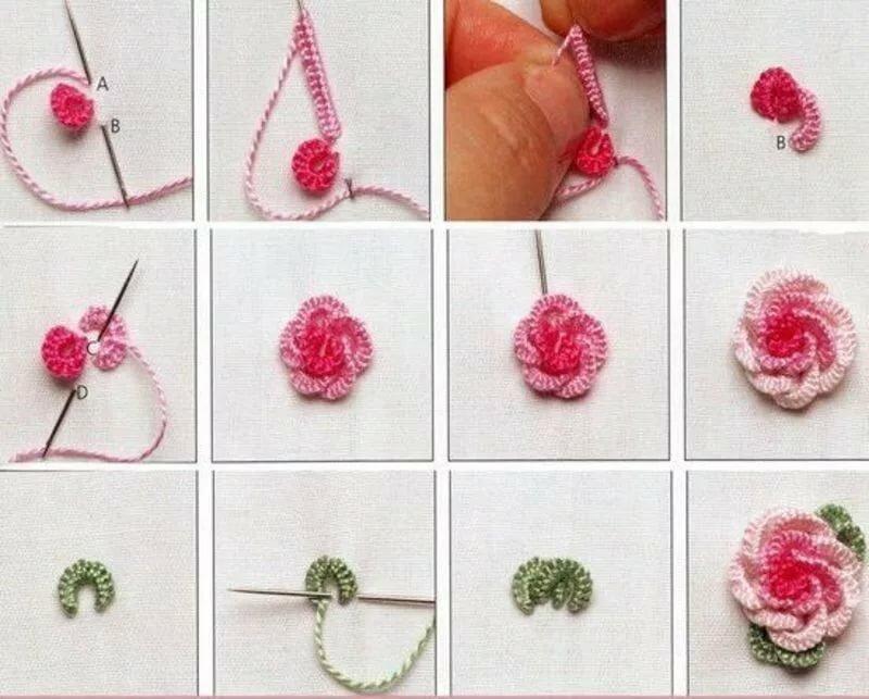 Вышивка рококо для начинающих: как выполнить узор на вязаных вещах и других изделиях— пошаговый мастер-класс