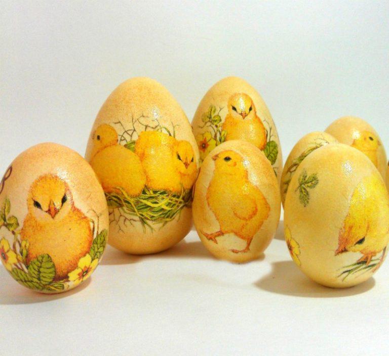 Декупаж пасхальных яиц салфетками – 18 идей и мастер-классов (легко и просто своими руками) — самый смак