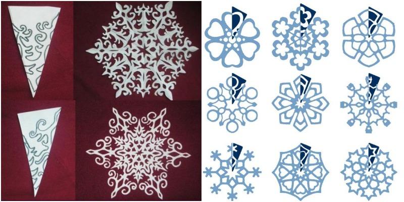 Как сделать снежинку своими руками — делаем красивые и оригинальные снежинки из подручных материалов (95 фото и видео)