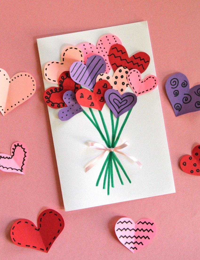 Валентинки на 14 февраля. красивые и оригинальные сердечки ко дню всех влюбленных своими руками