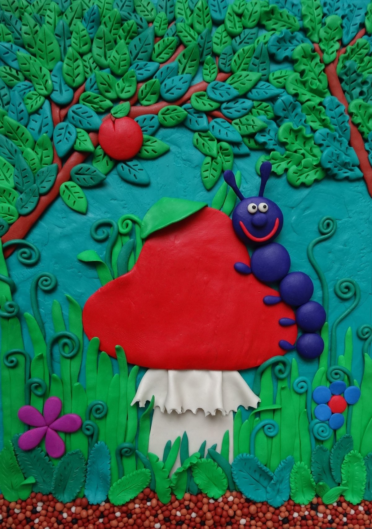 Пластилиновая живопись. идеи для творчества :: syl.ru