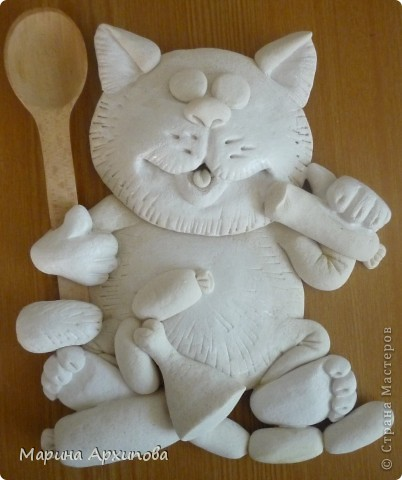 Коты из солёного теста своими руками