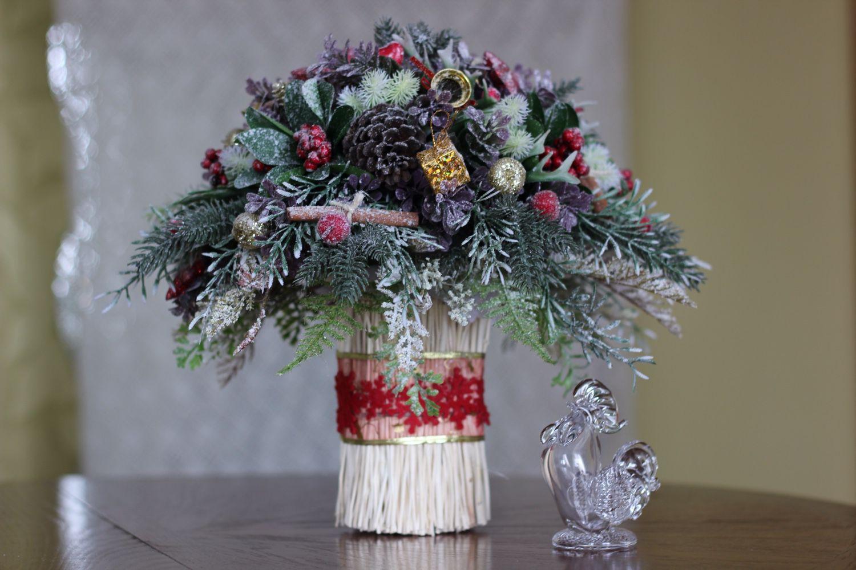Новогодние композиции — простые идеи для украшения дома. 22 фото — ботаничка.ru