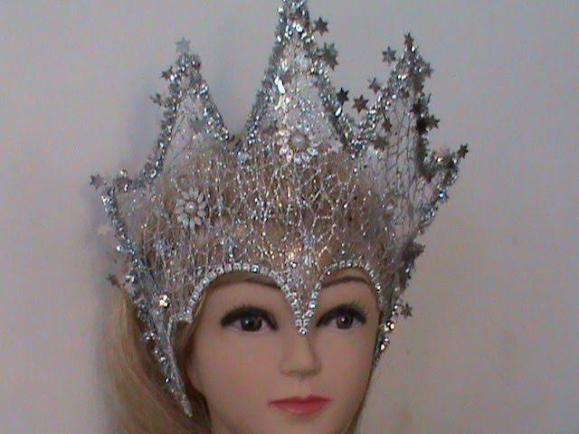 Корона для снежной королевы: делаем нарядный аксессуар для маленькой принцессы