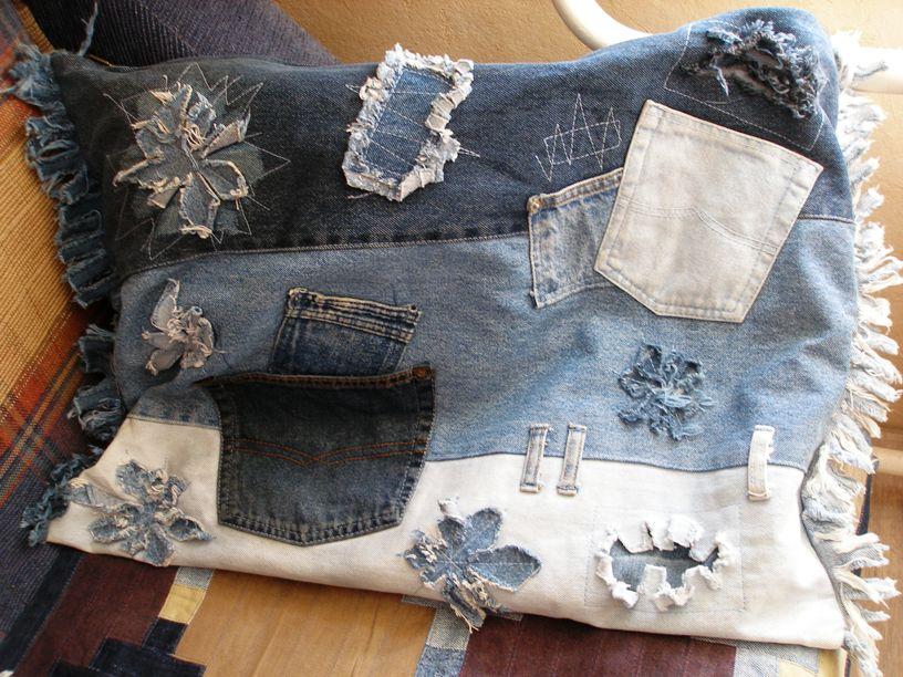 Старые джинсы - великая вещь! | страна мастеров