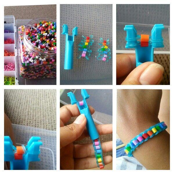 Браслеты из коктейльных трубочек. плетение браслетов из цветных трубочек для начинающих с фото и видео как закреплять браслеты из трубочек