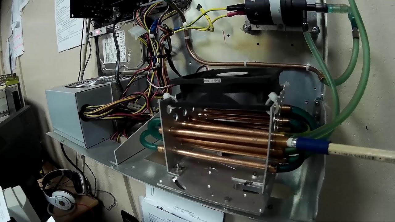 Как работает водяное охлаждение процессора в компьютере