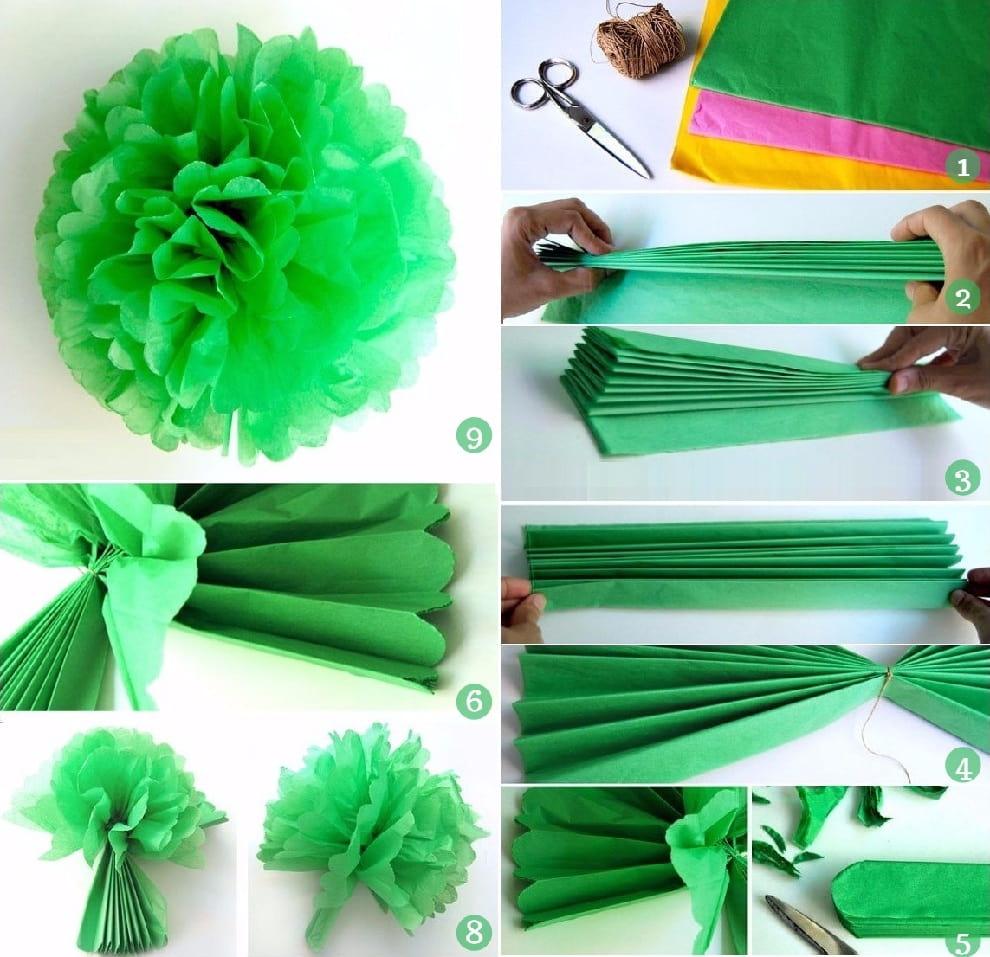 Цветы из салфеток своими руками - поэтапное изготовление бумажных цветов (видео + 120 фото)