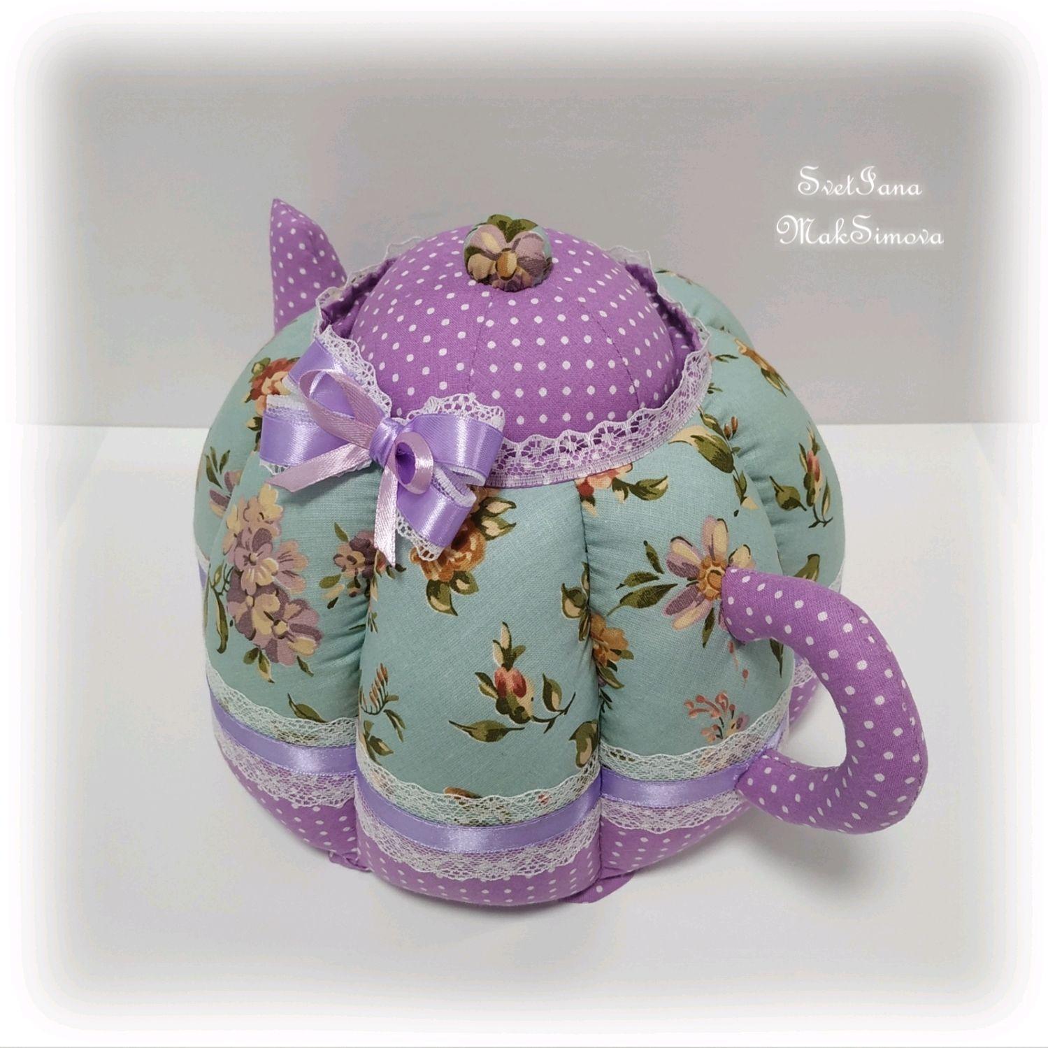 Сшить грелку для заварочного чайника своими руками  | страна мастеров